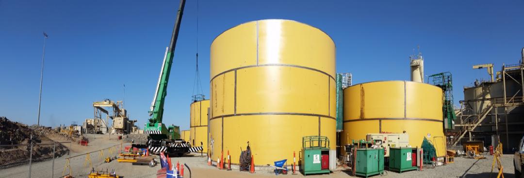 Evolution Mining – CGO Flot Tail Leach Project